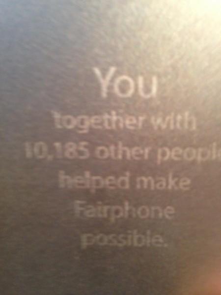 Fairfone 002
